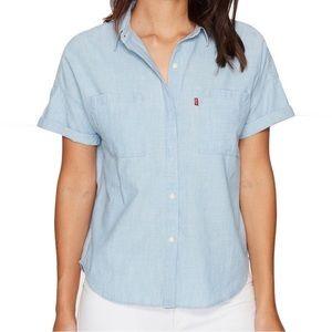 Levi's Denim Short Sleeve Shirt